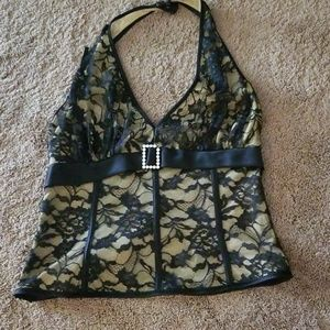 Lacey size large halter